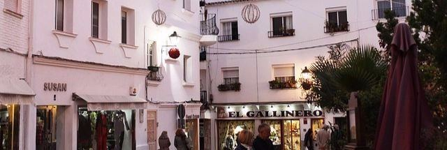 Butik i gamla stan Marbella