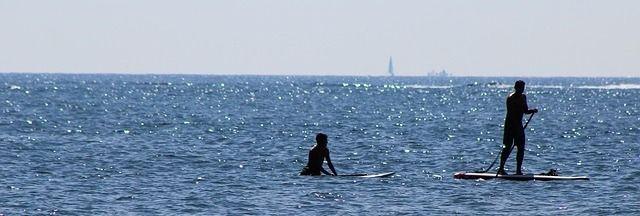Havsaktivitet i Marbella