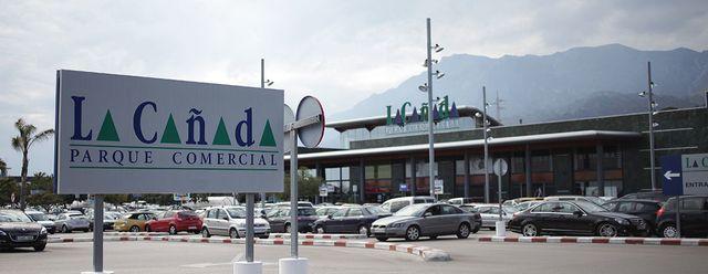 La Canada köpcentra i Marbella