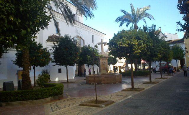 Gamla stadsdelen i Marbella