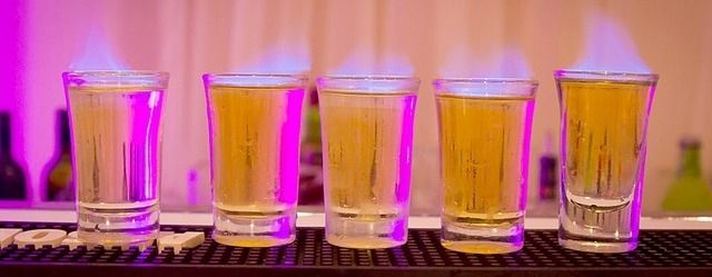 Nattlivet - shots i Puerto Banus