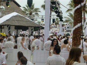 White Party på Nikki Beach