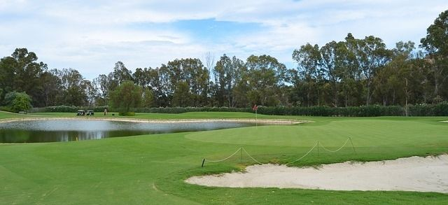 Golfbana i Marbella