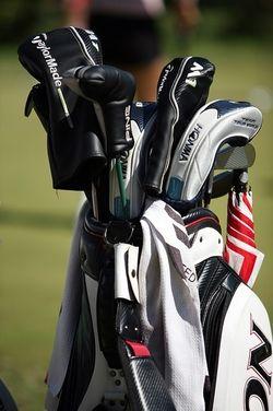 Golfbag - klubbor och utrustning