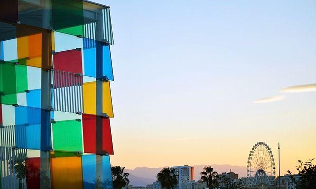 Pompidou Museum i Malaga