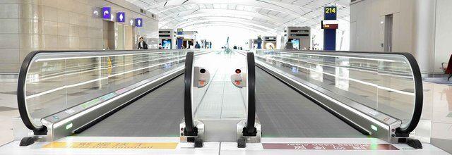 Rullband på Malaga Flygplats