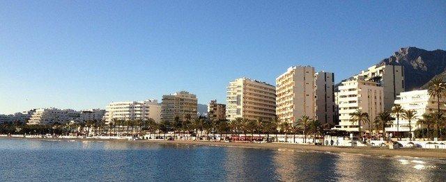 Siluett över Marbella